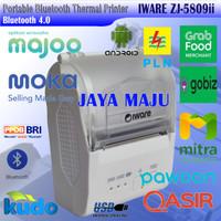 MINI THERMAL PRINTER BLUETOOTH IWARE ZJ-5809ii RPP02N SUPPORT GOFOOD