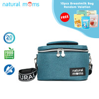 Thermal Bag / Cooler Bag Natural Moms - Single Bag Frio Cielo