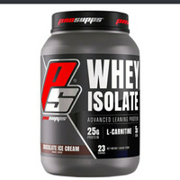 PROSUPPS PS WHEY PROTEIN ISOLATE 1.63LB 1,63 LBS CHOCO ICE CREAM !!!