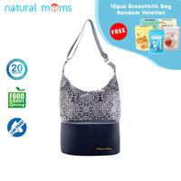 Thermal Bag / Cooler Bag Natural Moms - Tote Silver Iznik
