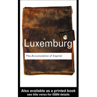 Pesanan khusus (A5,Softcover) - luxemburg the accumulation of capital
