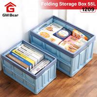 GM Bear Kotak Penyimpanan Lipat 55L Portable 1209-Folding Storage Box