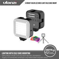 Ulanzi U-Bright Lampu Vlog Bi Color LED Video Light Vlogging + Filters
