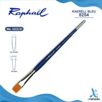 Kuas Lukis Raphael 8254 Flat Kaerell Bleu Synthetic Brush Short Handle