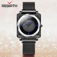 REBIRTH jam tangan wanita SantaiTahan Air Kuarsa jam tangan cewek