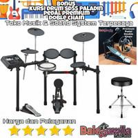 Drum Elektrik Yamaha Dtx6k Dtx-6k Dtx 6 K Original Bonus Kursi Drum