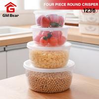 GM Bear Set Kotak Makan 1236-Lunch Storage Box Set