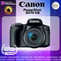 Canon PowerShot SX70 HS Digital Camera resmi