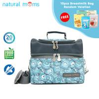 Thermal Bag / Cooler Bag Natural Moms - Sling Cookie Monster