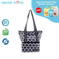 Natural Moms Tote Bag Maroccan