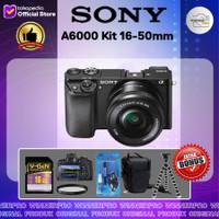SONY ALPHA A6000 Kit 16-50mm / ALPHA A6000 - BLACK