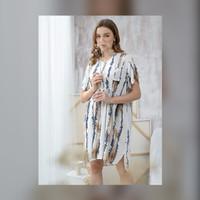 Julia Nightdress in Sand Beach - Piyama / Daster Rayon Premium by RAHA