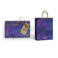 Paket Kertas Kado & Paper Bag Harvest Gift Set - Sugar Pop Galaxy