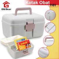 GM Bear Tempat Penyimpanan Obat 1181-Kotak Obat portable
