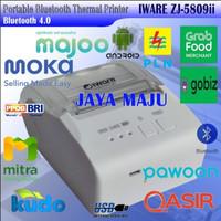 MINI THERMAL PRINTER BLUETOOTH 58MM IWARE ZJ-5809ii MODEL BARU ZJ-5809