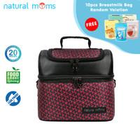 Thermal Bag / Cooler Bag Natural Moms - Sling Red Velvet