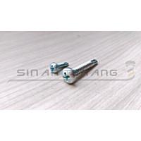 Sekrup SDS PH Drilling 6x13 - Self Drilling Pan Haed Obeng 100pcs