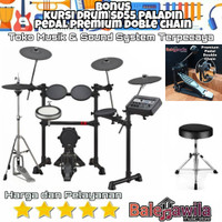 Drum Elektrik Yamaha Dtx6k2 Dtx-6k2 Dtx 6 K2 Original Bonus Kursi Drum