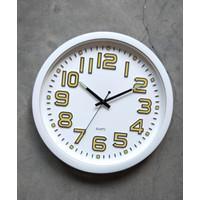 Jam Dinding MERIDIENT BIG Glow Diameter 40cm - GTD9 (Glow in the Dark)