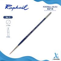 Kuas Lukis Raphael 8214 Short Detail Kaerell Bleu Synthetic Brush SH