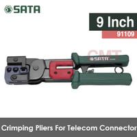 SATA Tang Crimpring untuk telepon Pliers Telecom Connector crimping