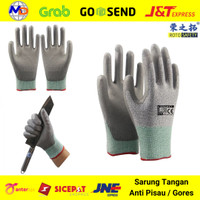 Safety Gloves Sarung Tangan Anti Pisau Gores Benda Tajam Anti Bacok - M
