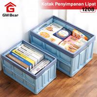 GM Bear Kotak Penyimpanan Lipat 30L 1208-Folding Storage Box 30 Liters