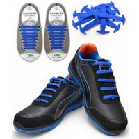 Tali Sepatu Premium Silikon Elastis Shoe Laces Karet Shoelace Silicone