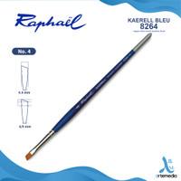 Kuas Lukis Raphael 8264 Angular Kaerell Bleu Synthetic Brush SH