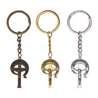 Gantungan Kunci Roh Pencipta Aksesoris Tas Rohani Kristen Katolik