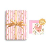 Paket Kertas Kado & Kartu Valentine Harvest Gift Set - Sweet Heart 3