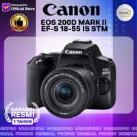 CANON EOS 200D MARK II EF-S 18-55 IS STM GARANSI RESMI DATASCRIP