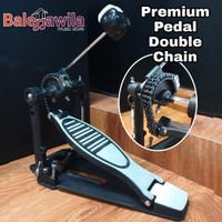Single Pedal Drum Premium Pedal Double Chain Kickpedal Kick Pedal Drum