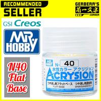 N40 Flat Base Acrysion Water Based Acrylic Paint Mr Hobby Original