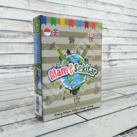 Flashcard Alam & Sekitar - KidSmart Kartu Pintar Mainan Edukasi Anak