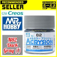 N82 Dark Gray (1) Acrysion Water Based Acrylic Paint Mr Hobby Original