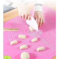Alas Adonan Silikon Tatakan Baking Roti Kue Rubber Silicone Mat Jumbo