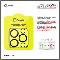 iPhone 12 Pro- Copper Tempered Glass Kamera