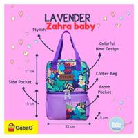 cooler bag gabag lavender pop series free 1 ice gel