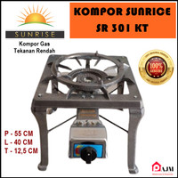 Kompor Cor 1 Tungku Sunrise SR 301 Auto KT