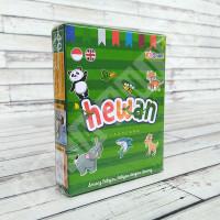 Flashcard Hewan Satwa - KidSmart Kartu Pintar Mainan Edukasi Anak