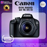 Kamera canon eos 3000d kit 18-55 III RESMI CANON