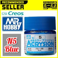 N5 Blue Acrysion Water Based Acrylic Paint Mr Hobby Original