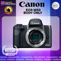 CANON EOS M50 BODY ONLY BLACK RESMI CANON DATASCRIP