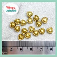 Mote Love Beads Manik Bahan Aksesoris Payet Gelang Kalung Charm