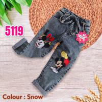 NomenaKids ~ 5119 Celana Jeans Panjang Anak Perempuan Basic - 2-3 tahun