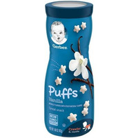 Gerber Puffs Vanilla Cereal 42gr