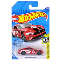 Hot Wheels Speed Graphics 2018 Ford Mustang GT Merah 92/250 HW Mobil