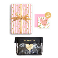 Paket Hadiah Valentine Clear Pouch & Gift Set Harvest - Sweet Heart 3