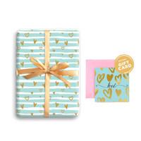 Paket Kertas Kado & Kartu Valentine Harvest Gift Set - Sweet Heart 4